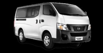 Cebu shuttle service van